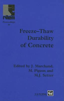Freeze-Thaw Durability of Concrete by J. Marchand