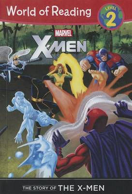 Marvel X-Men the Story of the X-Men book