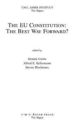 The EU Constitution by Deirdre Curtin