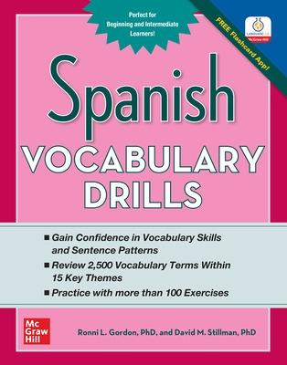 Spanish Vocabulary Drills by Ronni L. Gordon