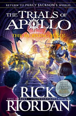 Burning Maze (The Trials of Apollo Book 3) book