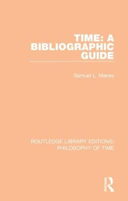 Time: A Bibliographic Guide book