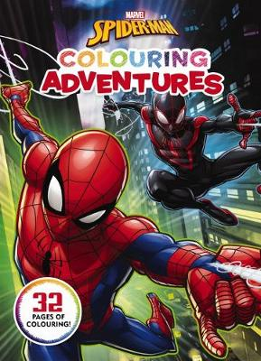 Marvel: Spider-Man Colouring Adventures book