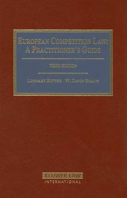 European Competition Law by Ritter