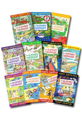 The Treehouse Series - Set of 10 Books book