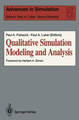 Qualitative Simulation Modeling and Analysis by Paul A. Fishwick
