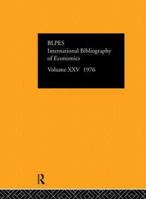 IBSS: Economics by International Committee for Social Science Information and Documentation