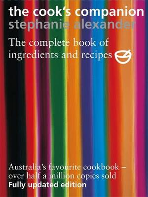 Cook's Companion, book