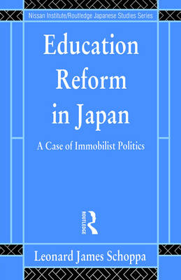 Education Reform in Japan book