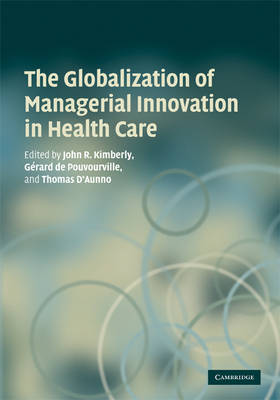 Globalization of Managerial Innovation in Health Care book