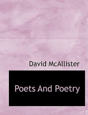 Poets and Poetry by David McAllister