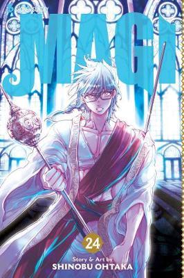 Magi: The Labyrinth of Magic, Vol. 24 by Shinobu Ohtaka
