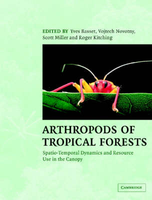 Arthropods of Tropical Forests book