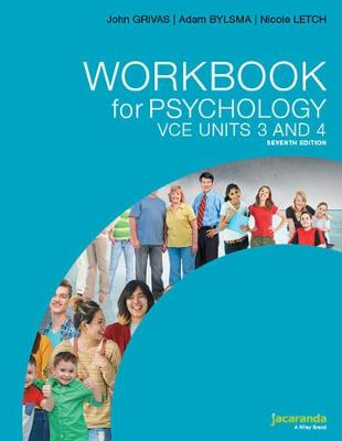 Workbook for Psychology VCE Units 3 and 4 7e by John Grivas