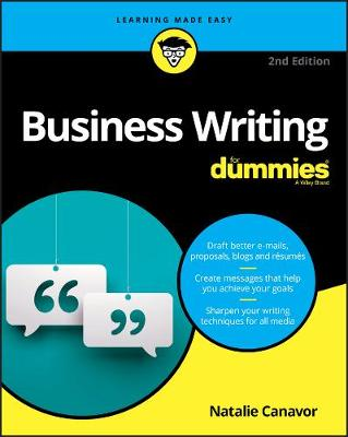 Business Writing For Dummies by Natalie Canavor