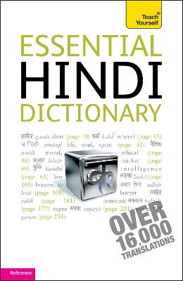 Essential Hindi Dictionary: Teach Yourself by Rupert Snell