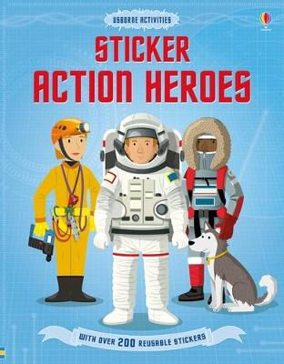 Sticker Dressing Action Heroes by Megan Cullis