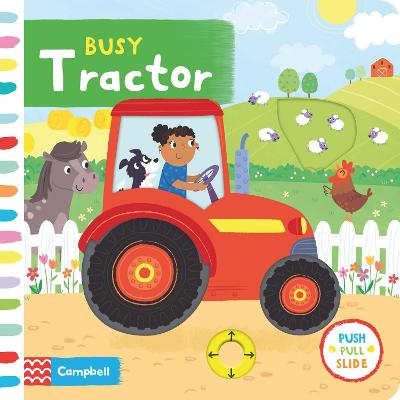 Busy Tractor book