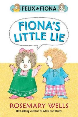 Fiona's Little Lie by Wells Rosemary