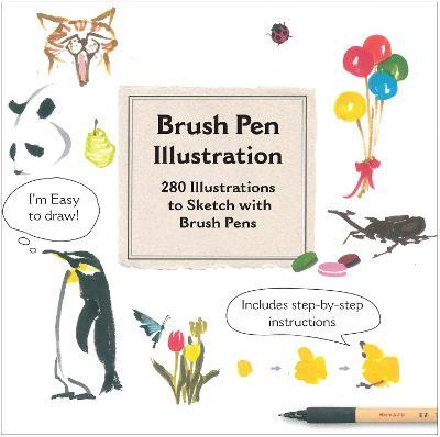 Brush Pen Illustration book