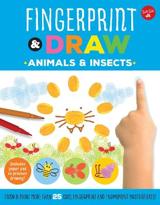 Fingerprint & Draw: Animals & Insects by Maite Balart