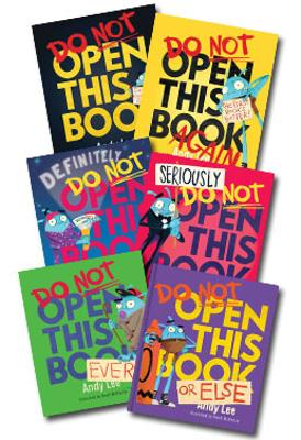 Do Not Open This Book: Set of 5 Books by Andy Lee