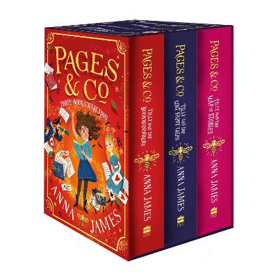 Pages & Co. Series Three-Book Collection Box Set (Books 1-3) by Anna James