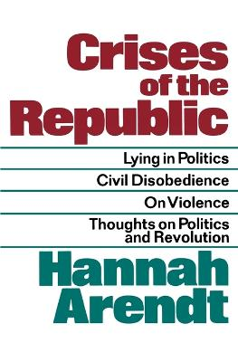 Crises of the Republic book