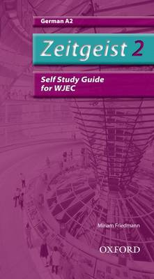 Zeitgeist: 2: A2 WJEC Self-Study Guide with CD by Morag McCrorie