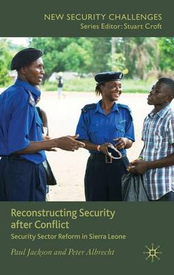 Reconstructing Security after Conflict book