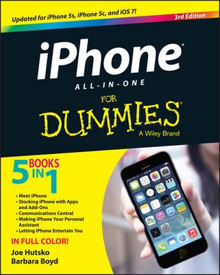 IPhone All-in-One For Dummies by Joe Hutsko