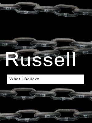 What I Believe book