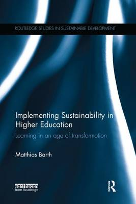 Implementing Sustainability in Higher Education book