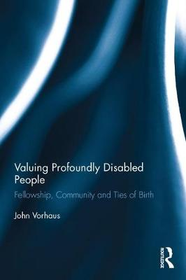 Valuing Profoundly Disabled People book