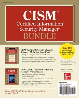CISM Certified Information Security Manager Bundle by Peter Gregory
