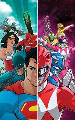 Justice LeaguePower Rangers HC book
