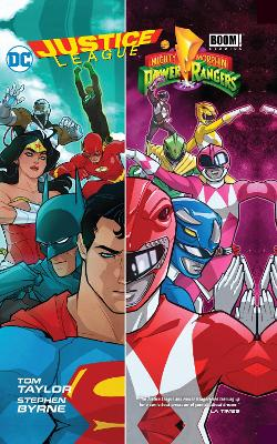 Justice LeaguePower Rangers HC by Tom Taylor