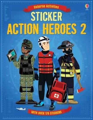 Sticker Dressing Action Heroes 2 book