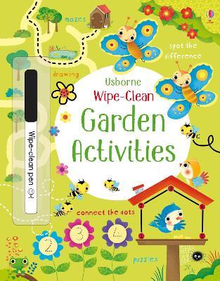 Wipe-Clean Garden Activities by Kirsteen Robson