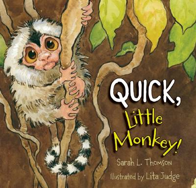Quick, Little Monkey! book