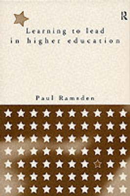 Learning to Lead in Higher Education book