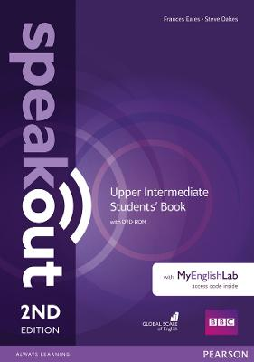 Speakout Upper Intermediate 2nd Edition Students' Book with DVD-ROM and MyEnglishLab Access Code Pack by Antonia Clare