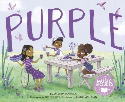 Purple by Amanda F Doering