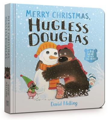 Merry Christmas, Hugless Douglas Board Book by David Melling