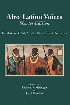 Afro-Latino Voices: Shorter Edition book