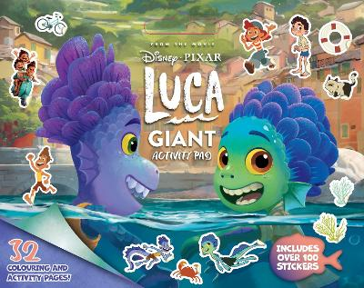 Luca Giant Activity Pad book