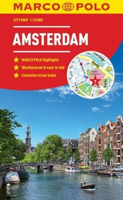 Amsterdam Marco Polo City Map 2018 by Marco Polo