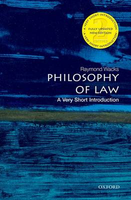 Philosophy of Law: A Very Short Introduction by Raymond Wacks