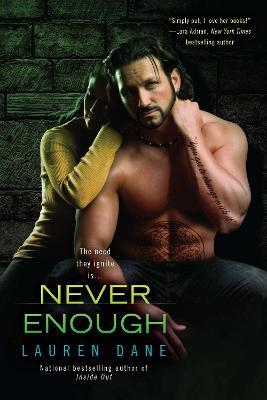 Never Enough book