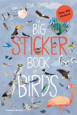 The Big Sticker Book of Birds by Yuval Zommer